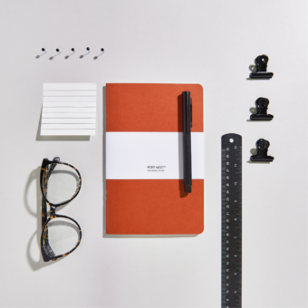 Port West Stationers_A5_03_Notebook (1 x 1) - Life_Rust Orange